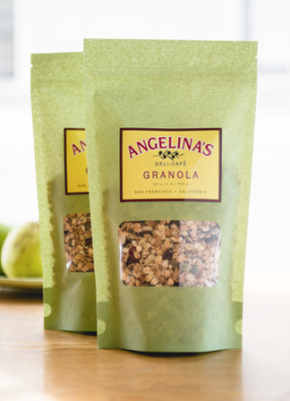 Angelina's Granola, made in small batches, in San Francisco markets